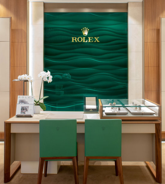 OUR ROLEX SHOWROOMS