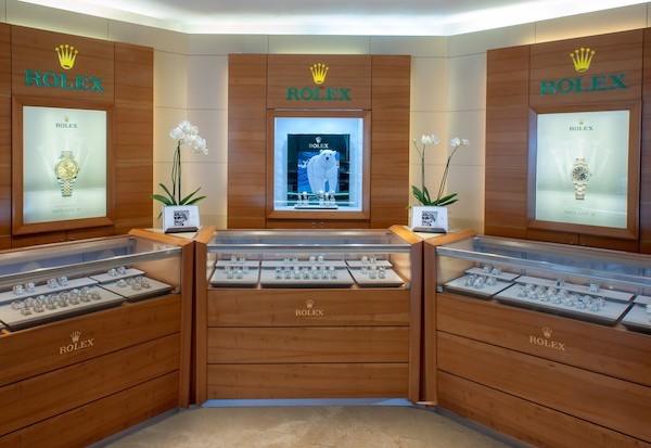 Nuestros showrooms Rolex