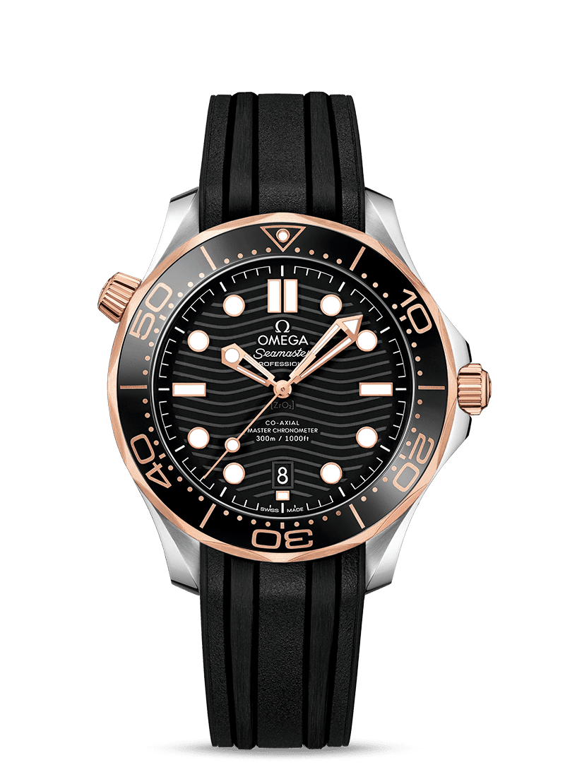 1 omega seamaster diver 300m omega co axial master chronometer 42 mm 21022422001002 l
