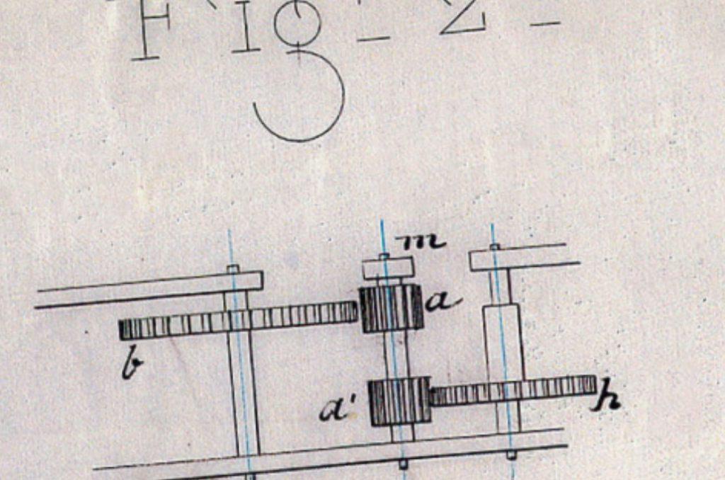 1887 pinon oscilante