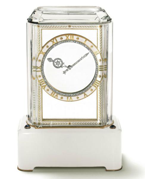 1912 cartier mysterry clock