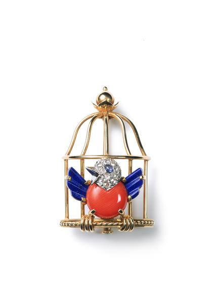 1942 cartier caged bird