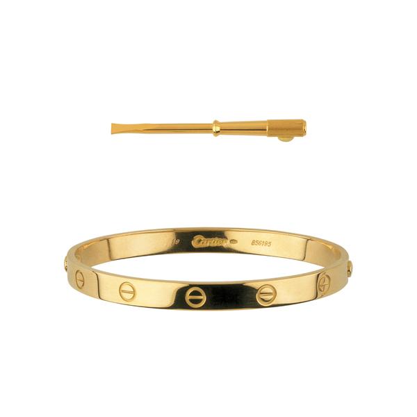 1969 cartier love bracelet