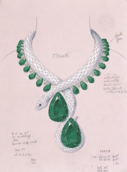 1997 cartier necklace