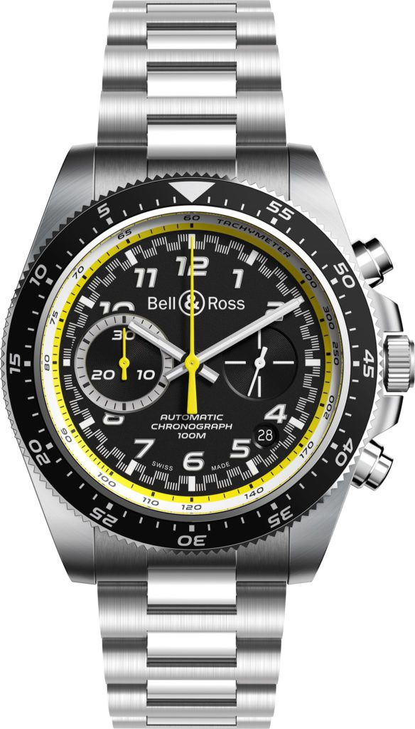 bell ross rs 20 collection renault sport f1 automatico brazalete de acero
