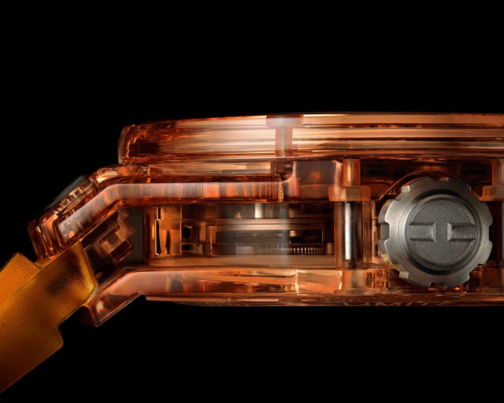 big bang tourbillon automatic orange 4