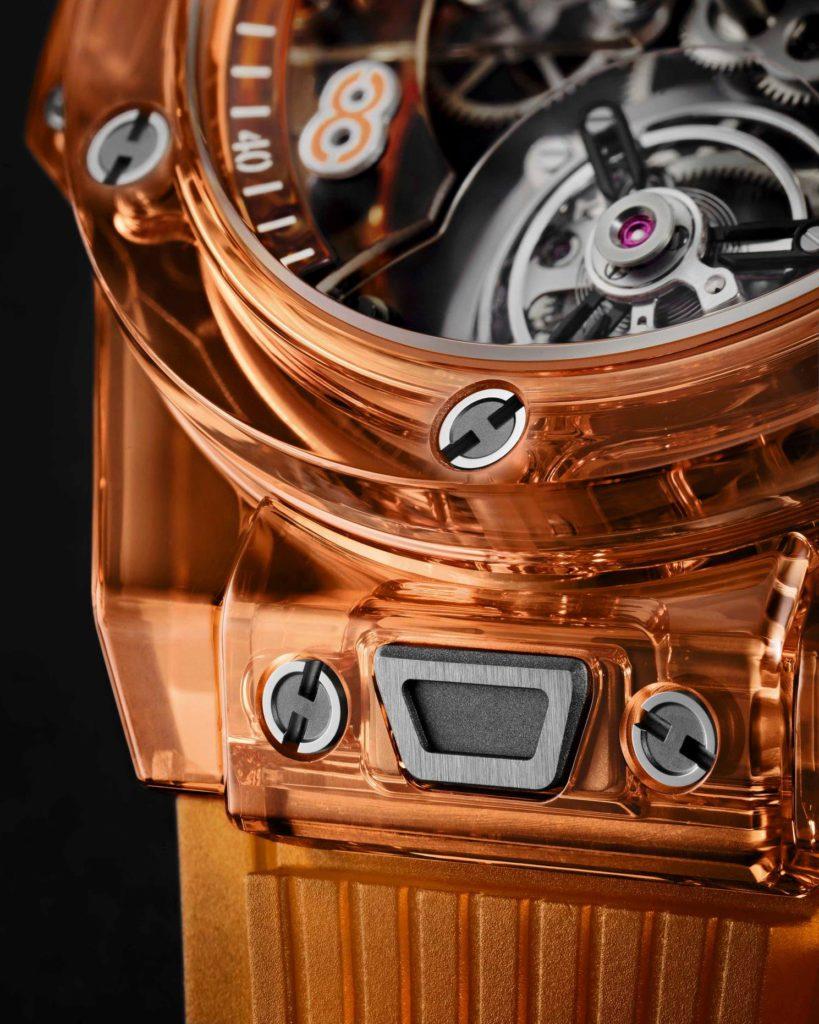 big bang tourbillon automatic orange 7