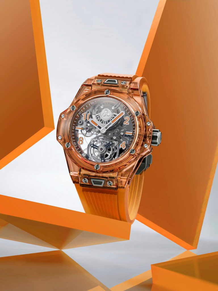big bang tourbillon automatic orange