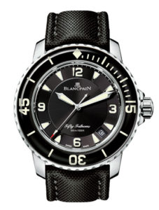 blancpain fifty fathoms relojes suizos