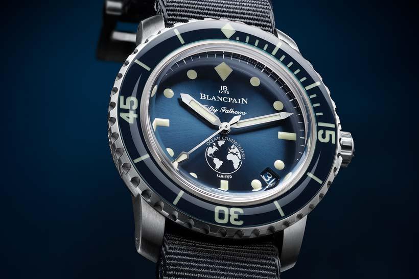 blancpain ocean commitment iii 2018