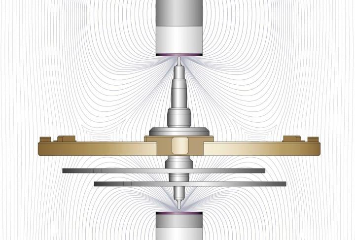 breguet pivote magnetico
