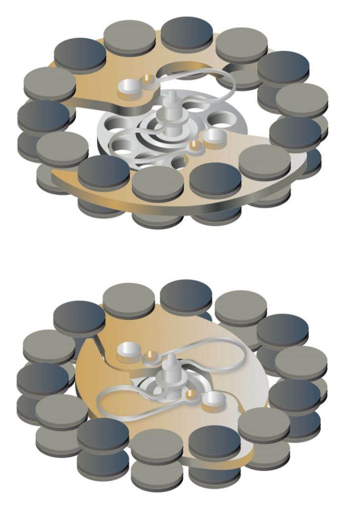 breguet regulador magnetico soneria