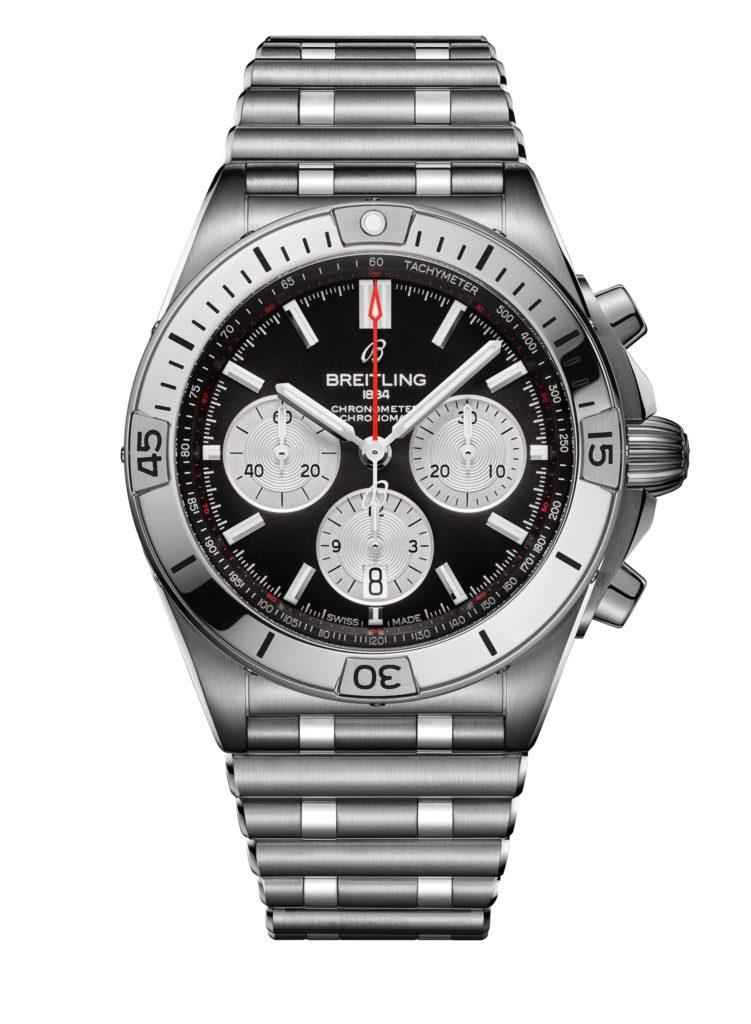 breitling chronomat 2020 crono negro blanc