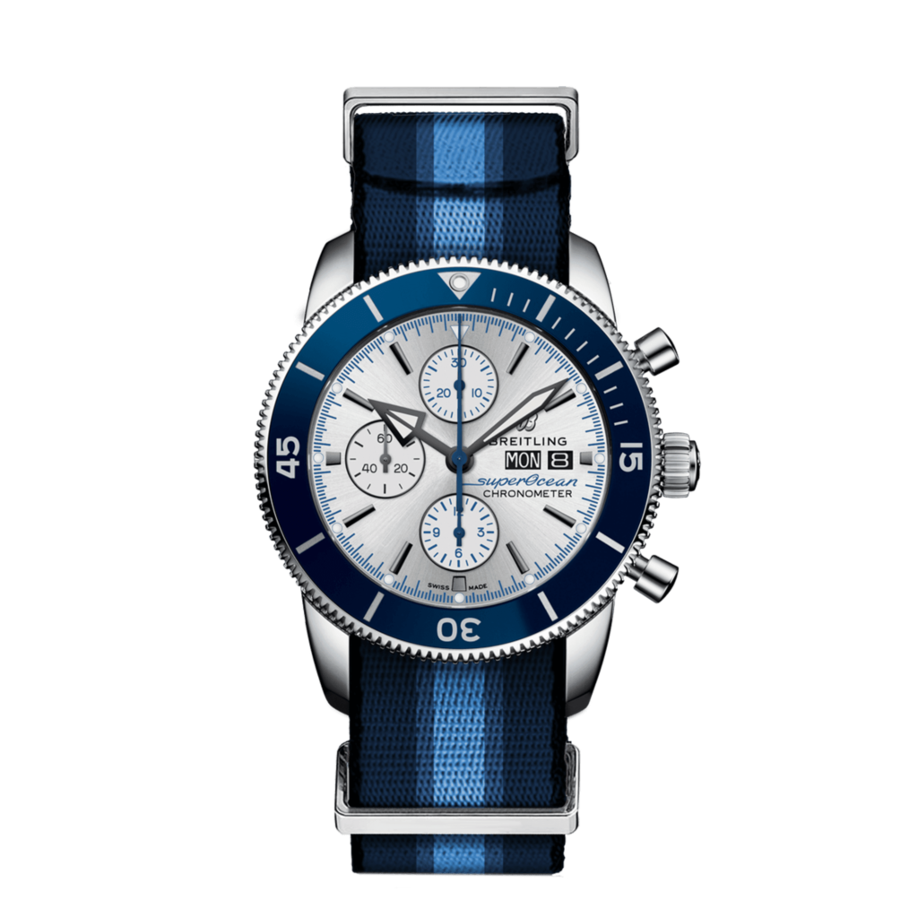 breitling superocean heritage chronograph 44 ocean conservancy limited edition frente