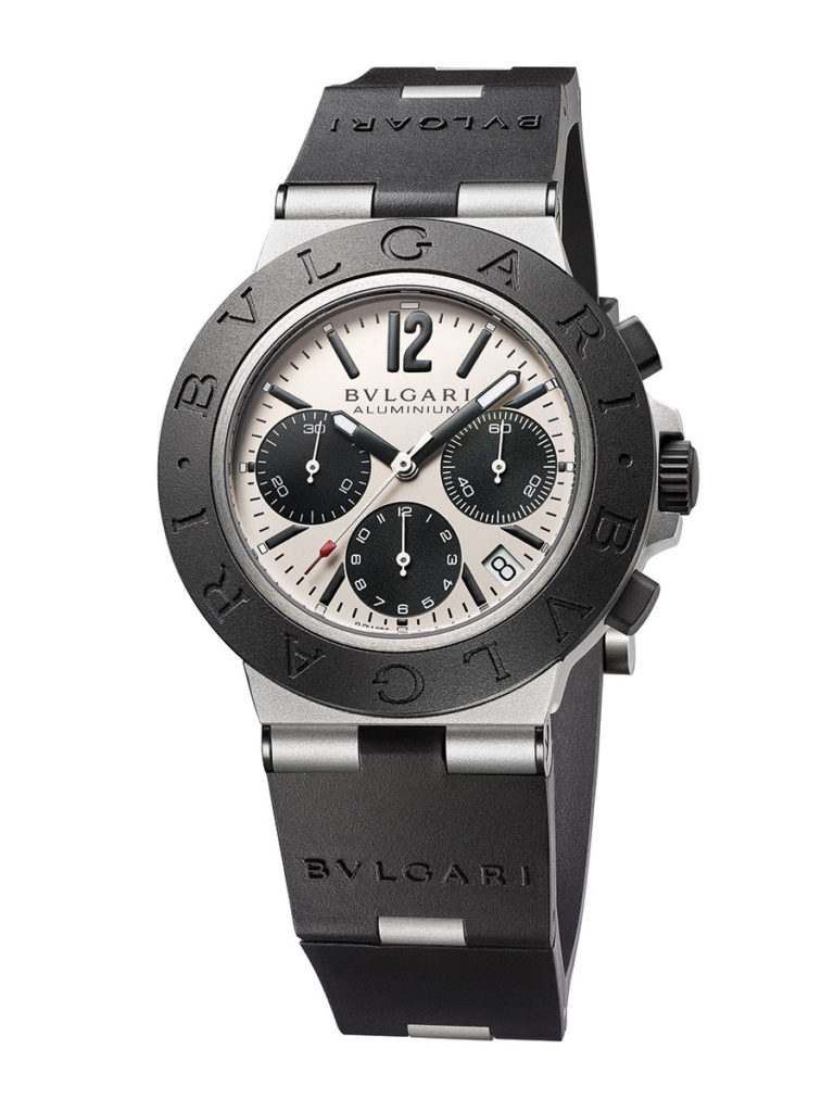 bvlgari aluminium y aluminium chronograph 5 1