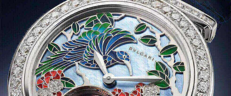 bvlgari crea un colorido paraiso en su nueva pieza