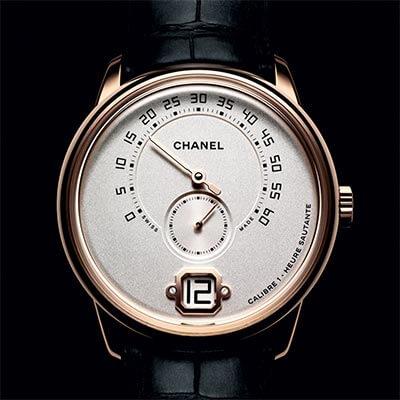 este es el primer reloj masculino firmado por chanel