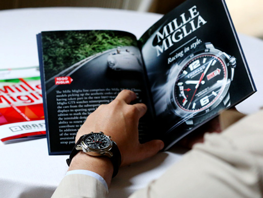 chopard celebrates the 90 years of mille miglia with an excellent piece