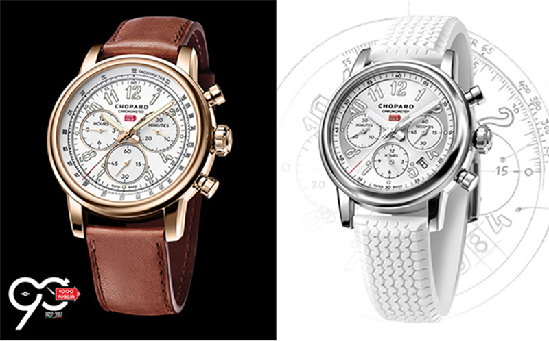 chopard for the 90th anniversary of the mille miglia