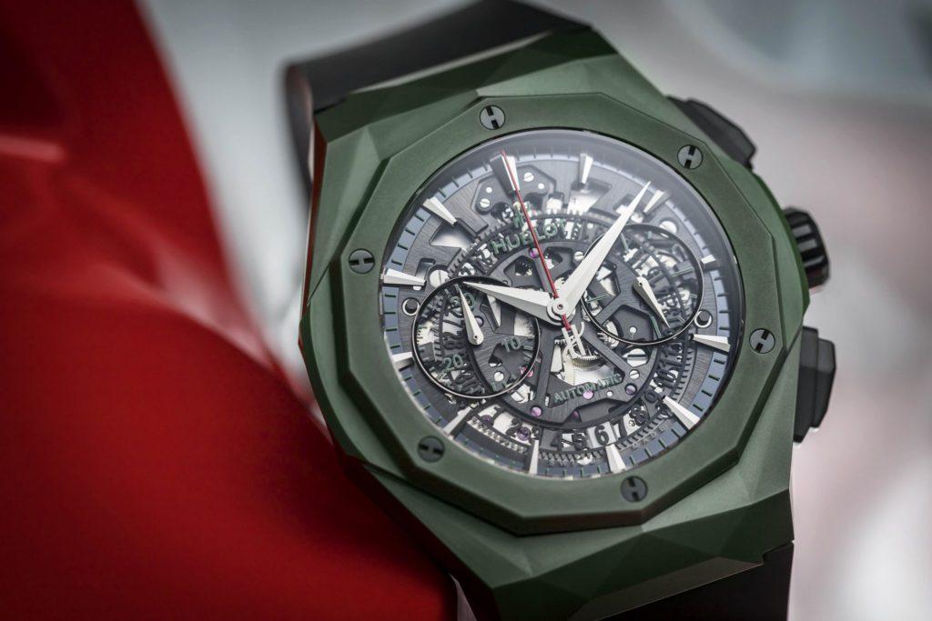 classic fusion aerofusion chronograph orlinski mexico green ceramic 3 jpg