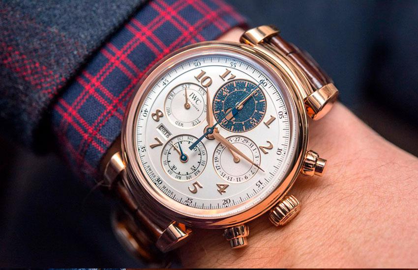 complicaciones de la relojería|calendario perpetuo complicaciones relojería iwc da vinci