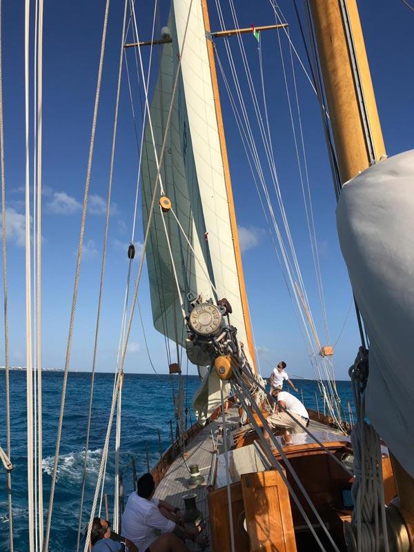 eilean, el velero representante de la regatta panerai classic yacht challenge1