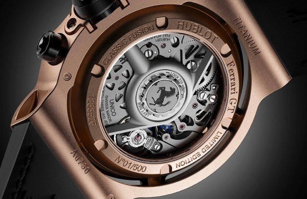 hublot classic fusion ferrari gt collection 2
