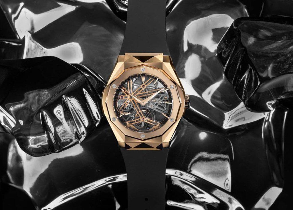 hublot classic fusion tourbillon orlinski king gold slider e1593625632229