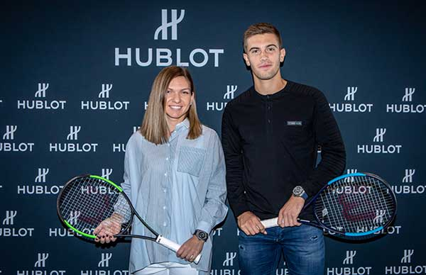 hublot tennis meet & greet 2