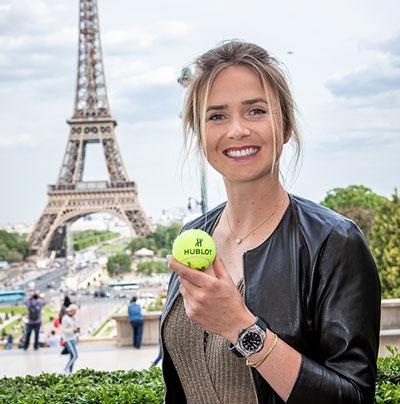hublot tennis meet & greet elina svitolina
