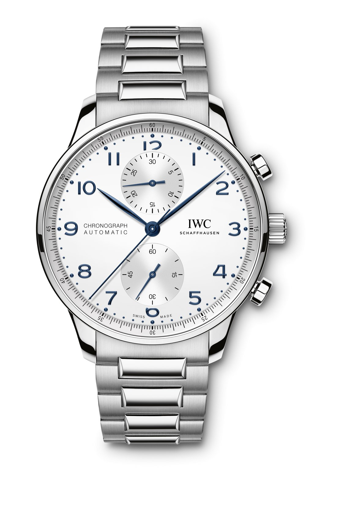 iwc portugieser chronograph acero