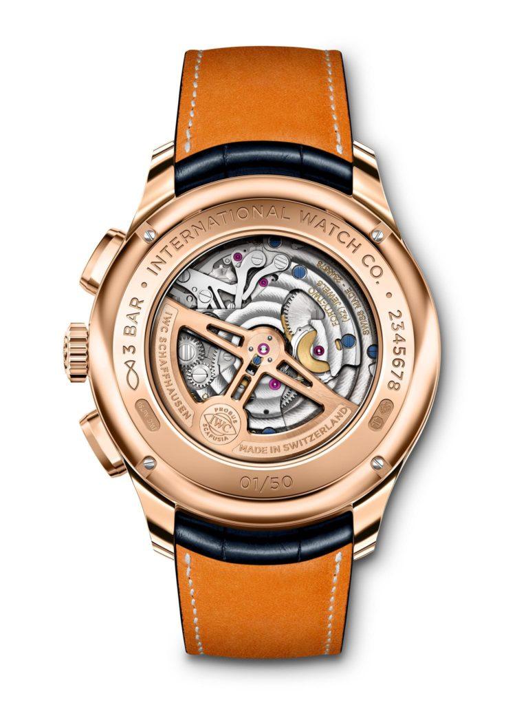 iwc portugieser tourbillon retrograde chronograph 2020 oro armor