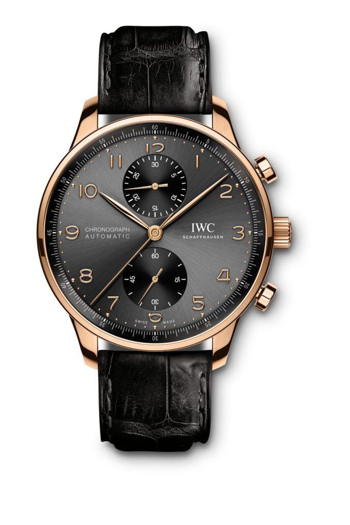 iwc schaffhausen portugieser chronograph 2020 oro rosa
