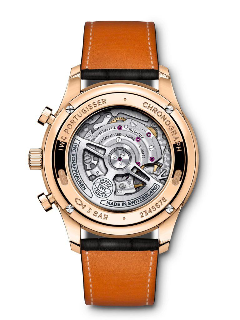 iwc schaffhausen portugieser chronograph 2020 rose gold
