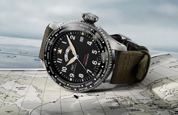 """iwc schaffhausen timezoner spitfire edition """"the longest flight"""""""