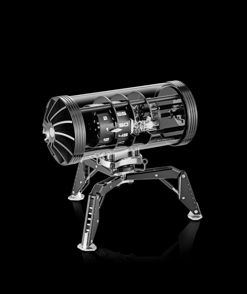 ld time machine black and palladium