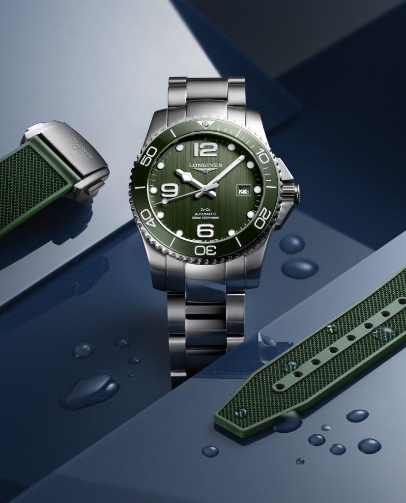longines hydroconquest green 7