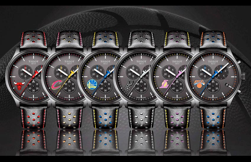 los relojes de tissot que visten el tiempo en la nba|reloj tissot xl nba