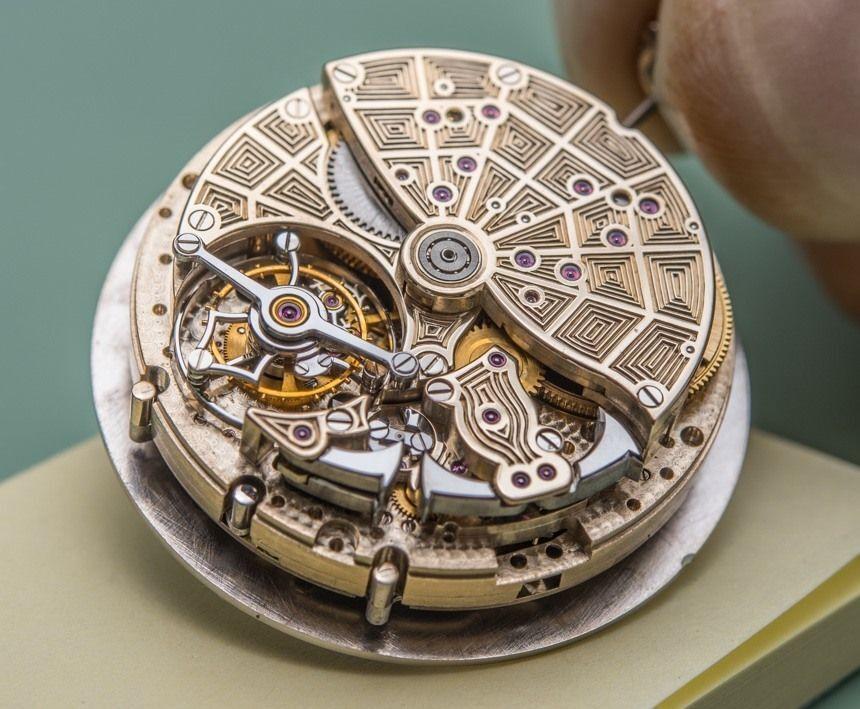 luxury watch mechanism