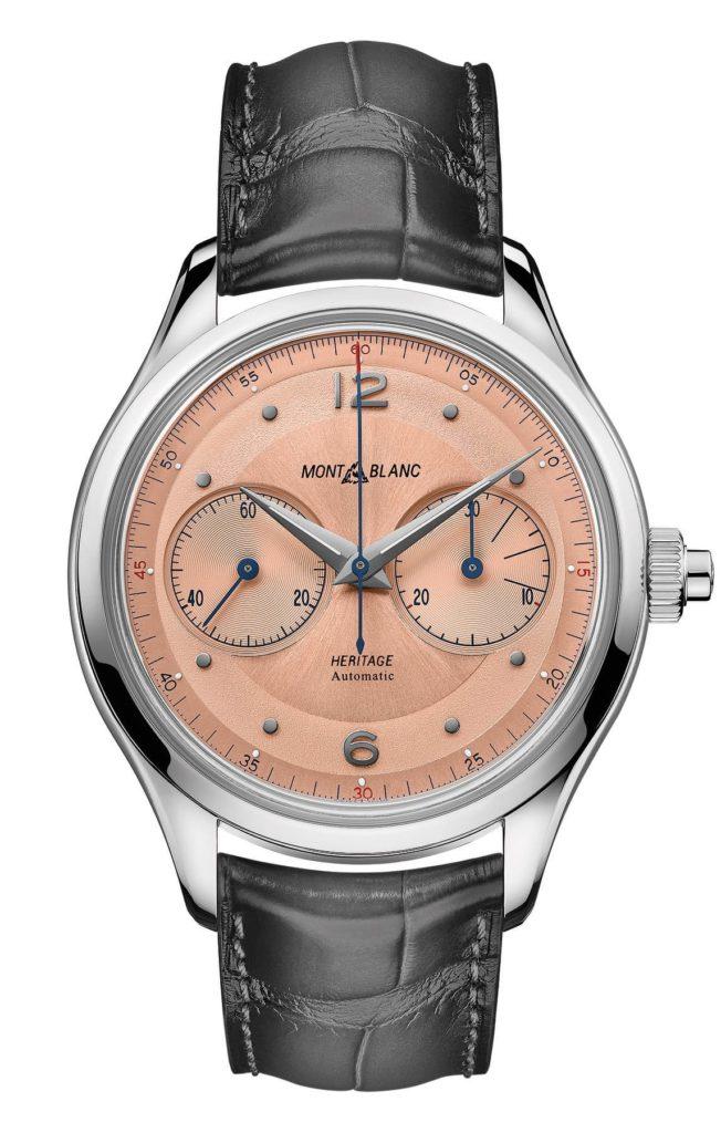 montblanc heritage chronograph monopusher