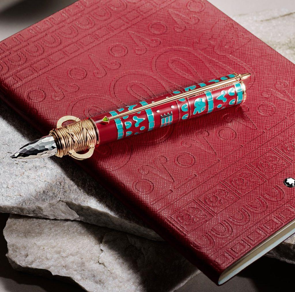 montblanc moctezuma 1 le notebook