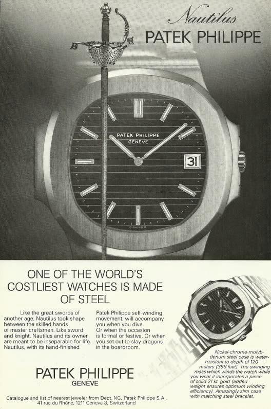 nautilus vintage advertisement