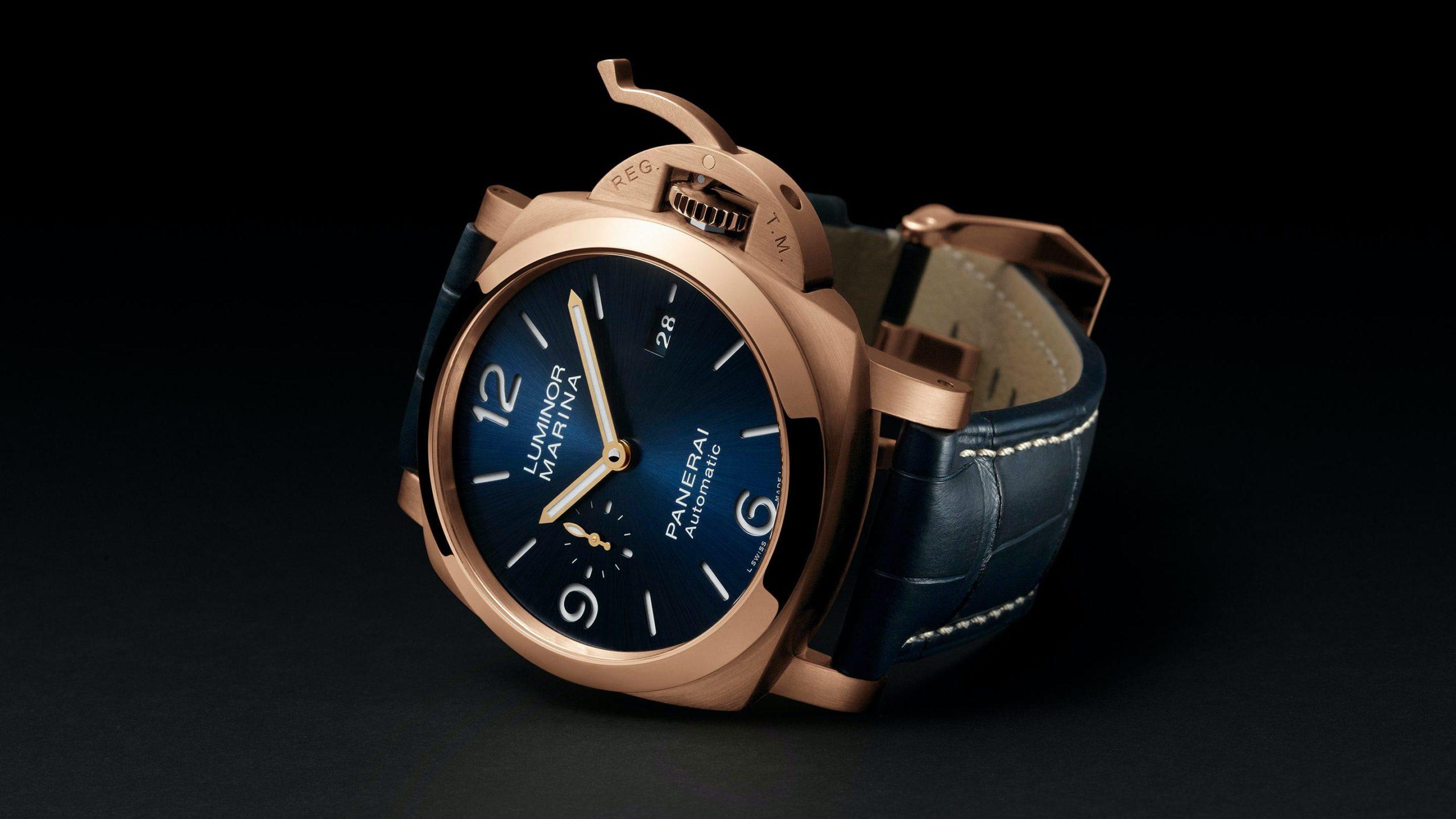 panerai luminor marina 44 mm goldtech watches wonders 2020 2