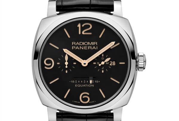 panerai radiomir 1940 equation of time 600x406