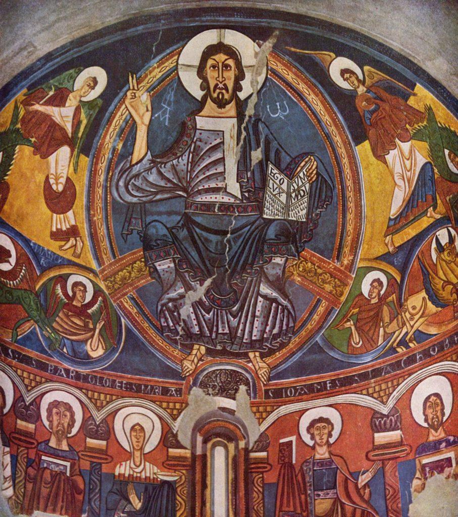pantocrator de abside sant climent