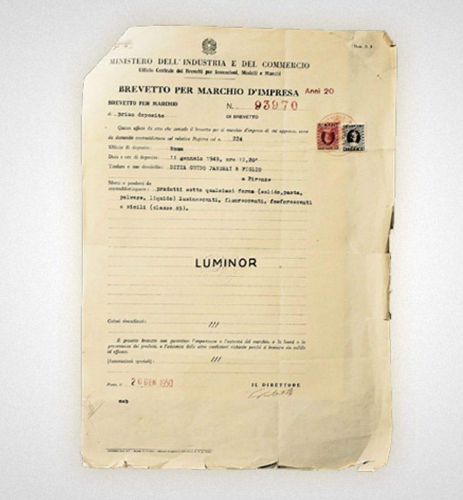 patente luminor 1949 1 1