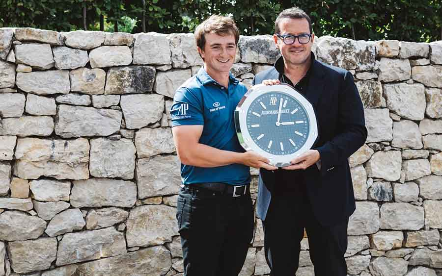 paul dunnes embajador de piguet gana el título del tour europeo paul dunnes y piguet