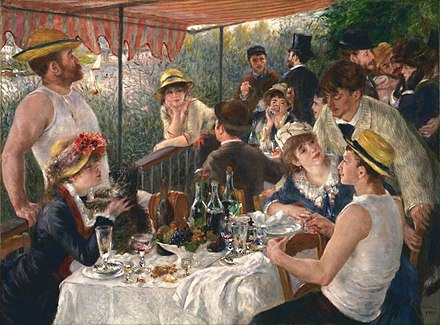 pierre auguste renoir luncheon of the boating party google art project