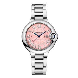 piezas de joyería rosa cancer de mama reloj cartier