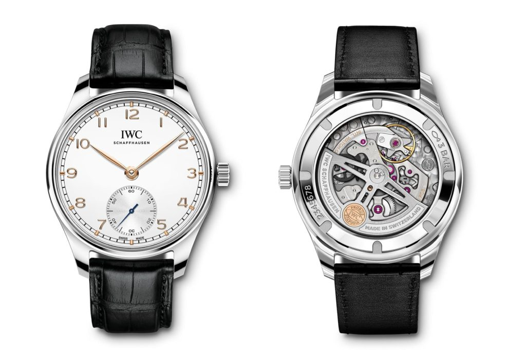 portugieser automatic 2020 watches and wonders frente y vuelta